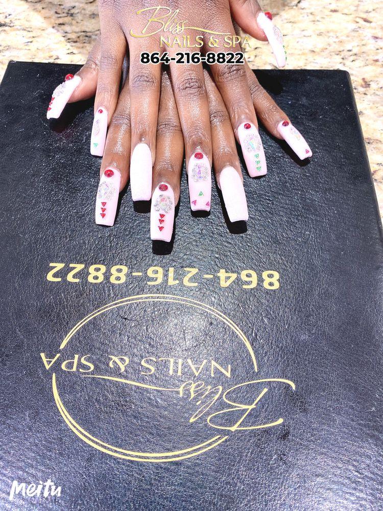 Bliss Nails & Spa: 1855 E Main St, Spartanburg, SC