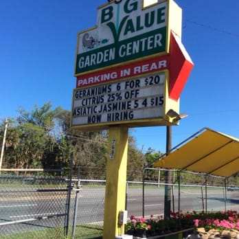 Big Value Garden Center Daytona Beach Fl