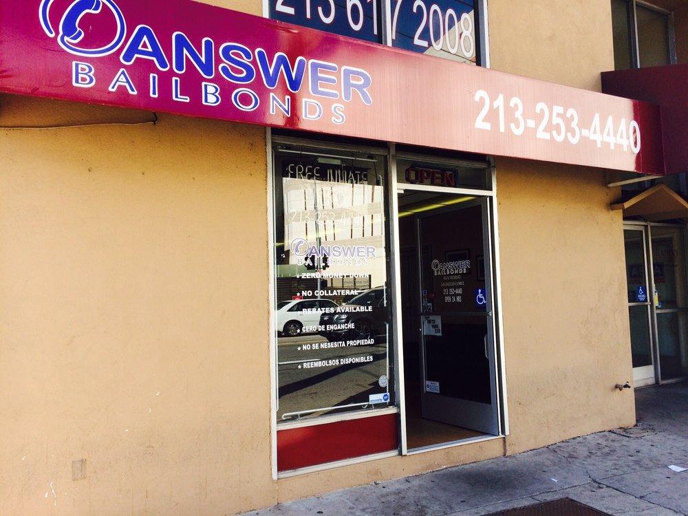 Answer Bail Bonds: 931 N Vignes St, Los Angeles, CA