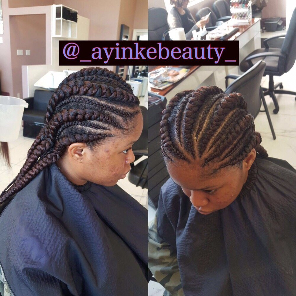 Cornrow With Hair Extension Yelp