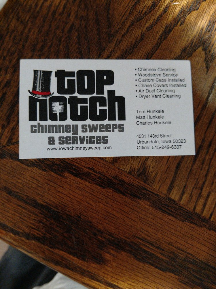 Top Notch Chimney Sweeps Services 16 Photos 4531 143rd St Urbandale Ia Phone Number Yelp