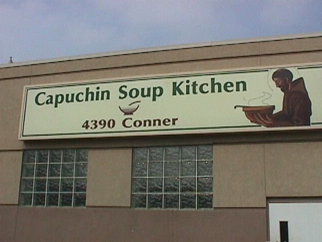 Capuchin Soup Kitcnen Conner Kitchen: 4390 Conner St, Detroit, MI