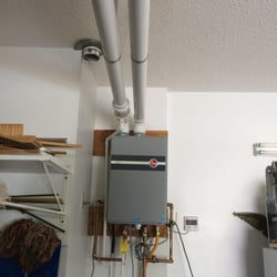 Photo Of Cline Plumbing Greenville Sc United States Condensing Tankless Water Heater