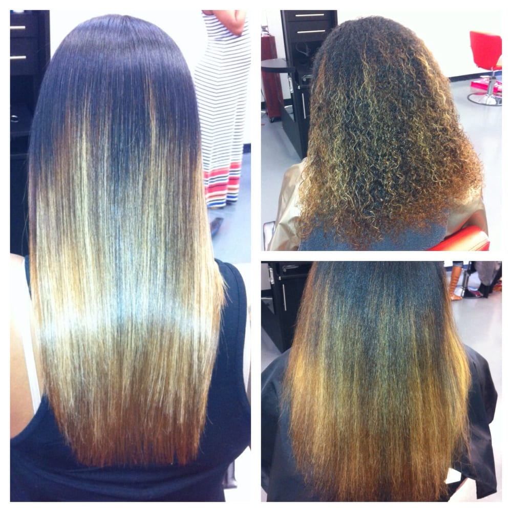 Beforeafter basic one step smoothing treatmentamino acid photo of custom hair extensions hair loss center decatur ga united states pmusecretfo Gallery