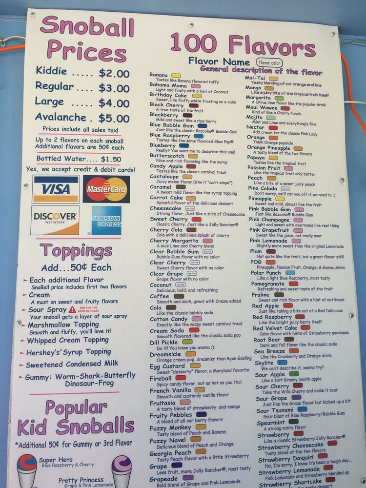 recipe: pelican snowball prices [20]