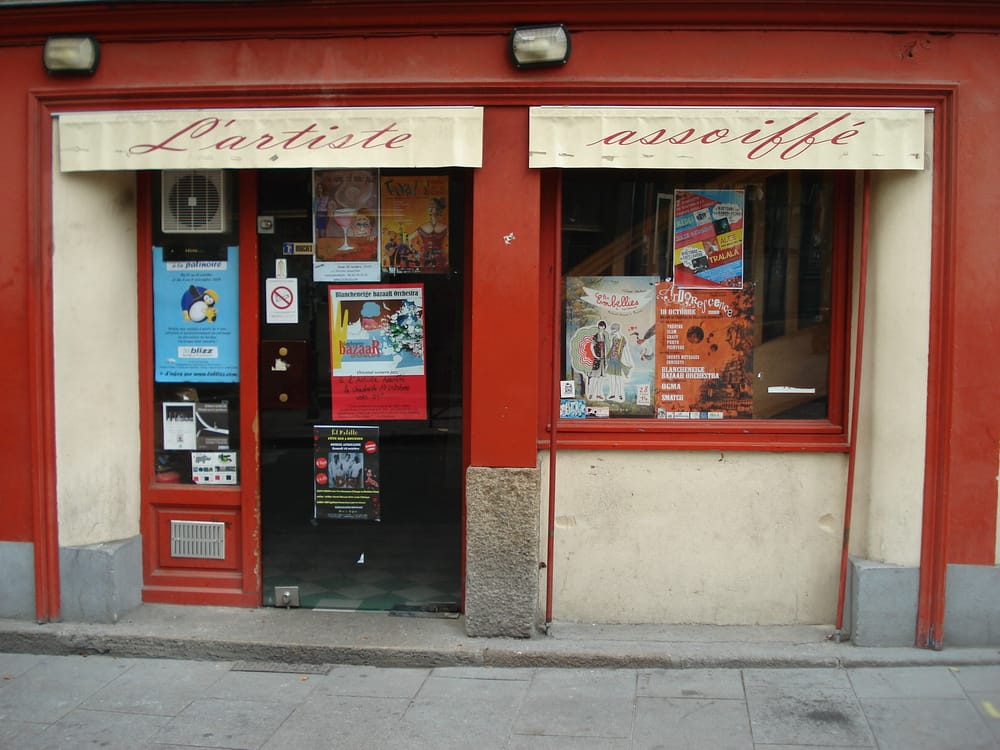 L artiste assoiff 22 reviews bars 4 rue st louis for Restaurant o 23 rennes