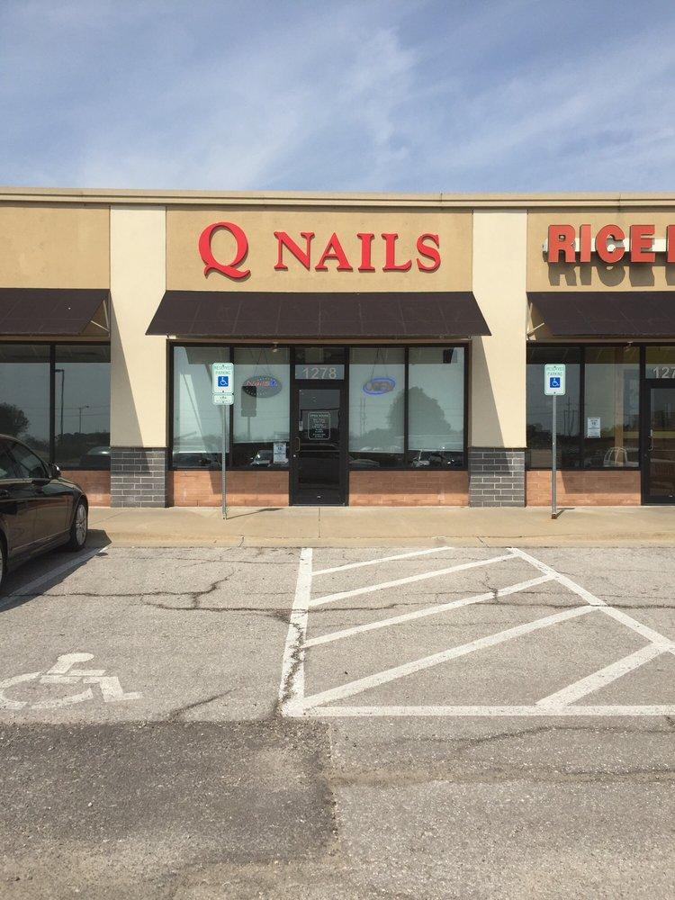 Q Nails: 1278 W Amity St, Louisburg, KS