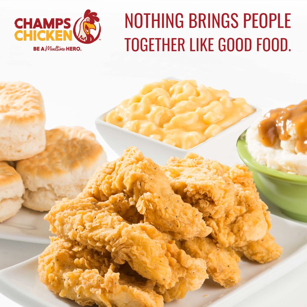 Champs Chicken: 23580 State Hwy 94, Calhan, CO