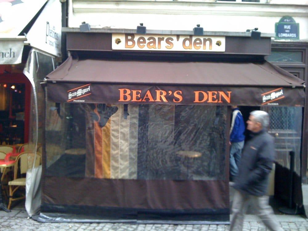 Photo de Bears' den - Paris, France. la terrasse en hiver...