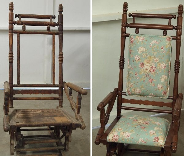 Refinished Antique Rocking Chair Yelp
