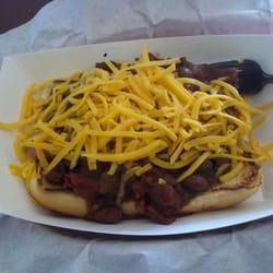 Photo Of Nv Burgers Greenfield Ca United States Chili Cheese Dog