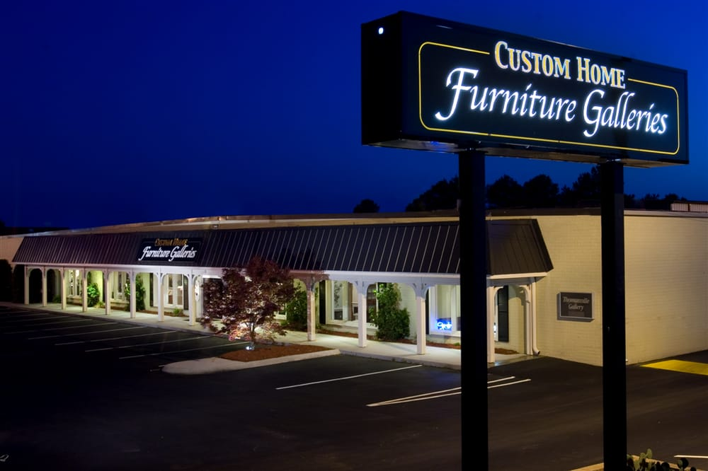 Custom home furniture galleries stores
