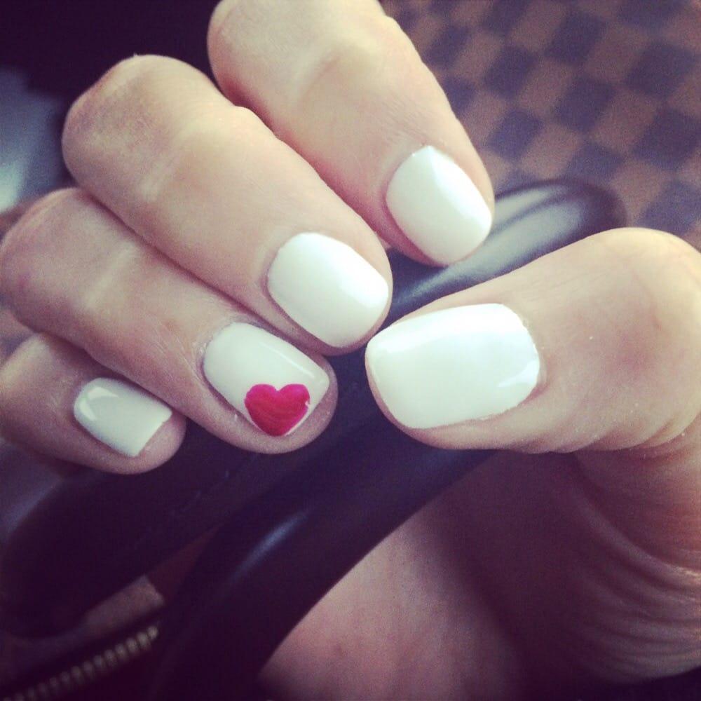 Valentine's Nails By Tham