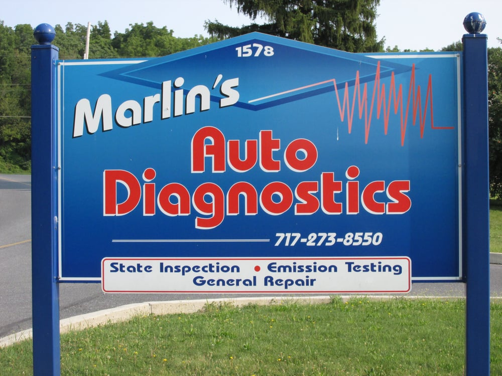 Marlin's Auto Diagnostics: 1578 Suzy St, Lebanon, PA
