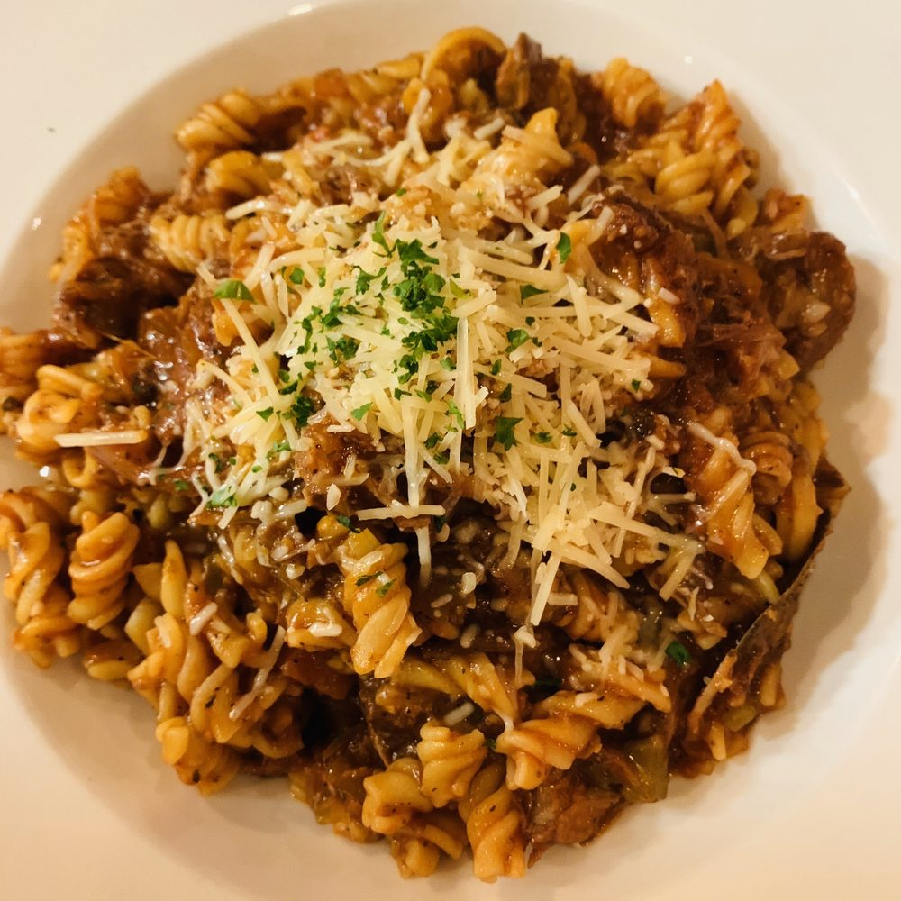 Food from Placido's Pasta Shop