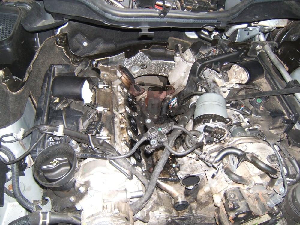 Remove Intake  Mercedes Diesel Engine