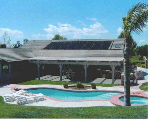 Desert solar designs solar installation 3812 e 37th st for Pool design tucson