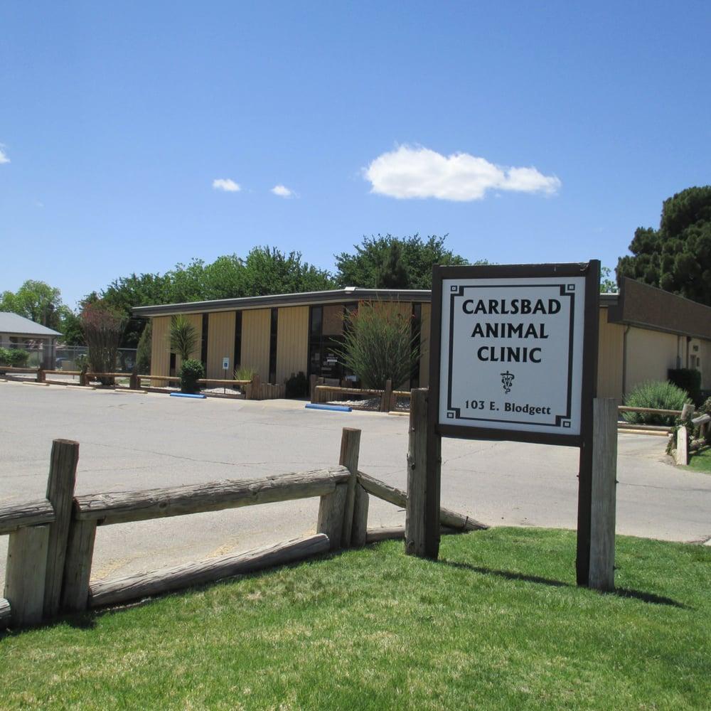 Carlsbad Animal Clinic: 103 E Blodgett, Carlsbad, NM