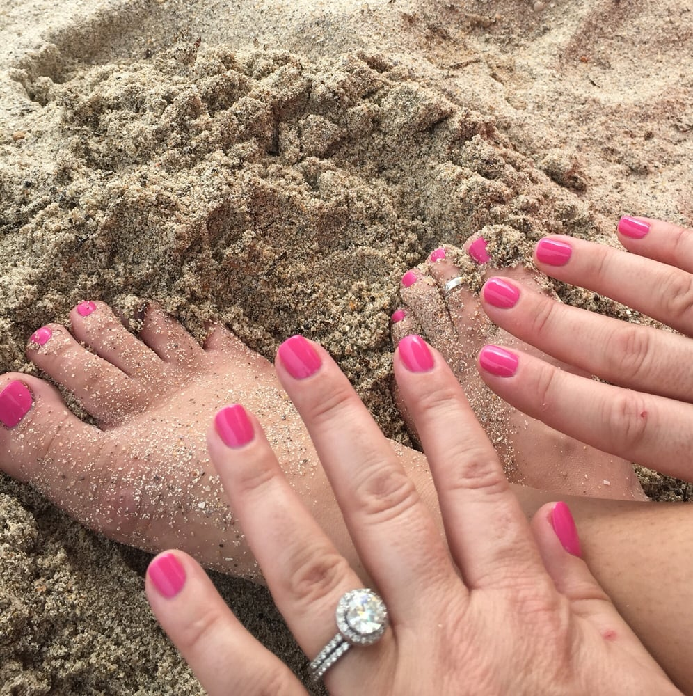 Beach ready fingers and toes! OPI style! Beautifully done nails! - Yelp