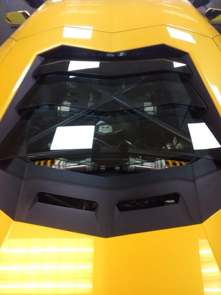 Aventador Engine Bay Yelp