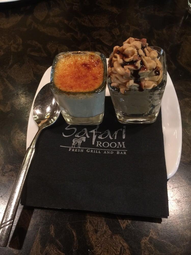 Safari Room Restaurant Week Menu