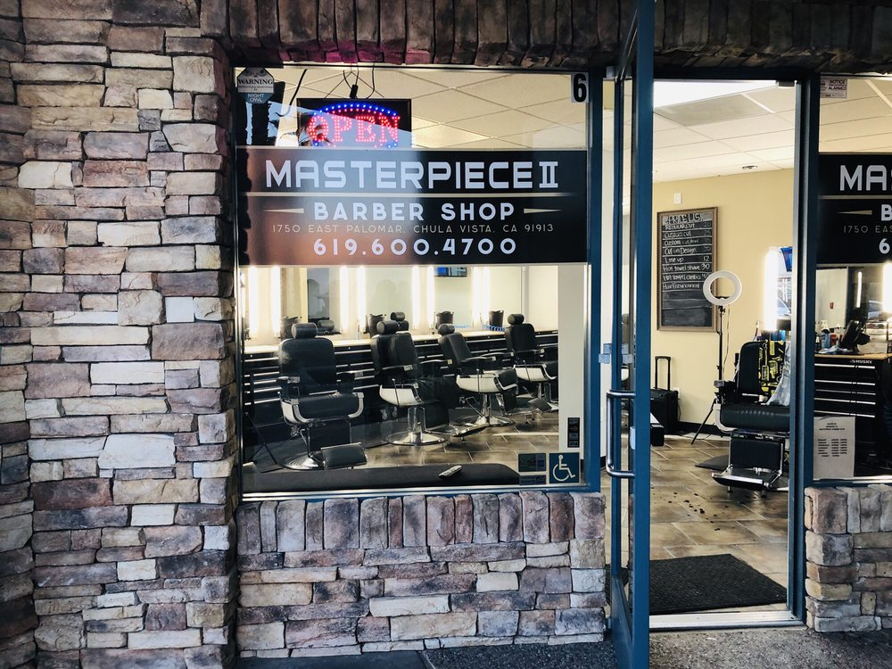 Masterpiece Barbershop II: 1750 E Palomar St, Chula Vista, CA
