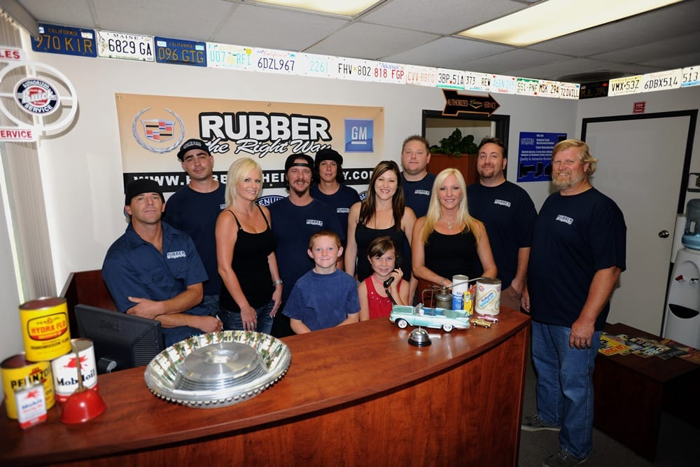 Rubber the Right Way: 7166 Convoy Ct, San Diego, CA
