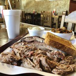 Photo Of Smokin Joe S Davis Ok United States 2 Meat Dinner