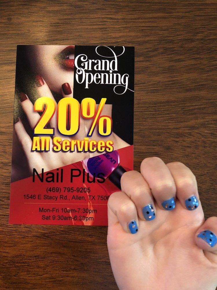 Nail Plus: 1546 E Stacy Rd, Allen, TX