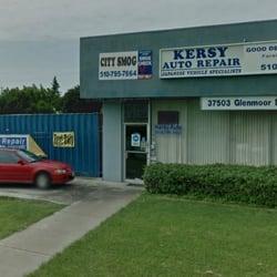 Kersy auto repair 28 reviews garages 37503 glenmoor for Fremont motors service department