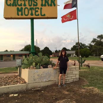 Photo Of Cactus Inn Mclean Tx United States Wife By Sign