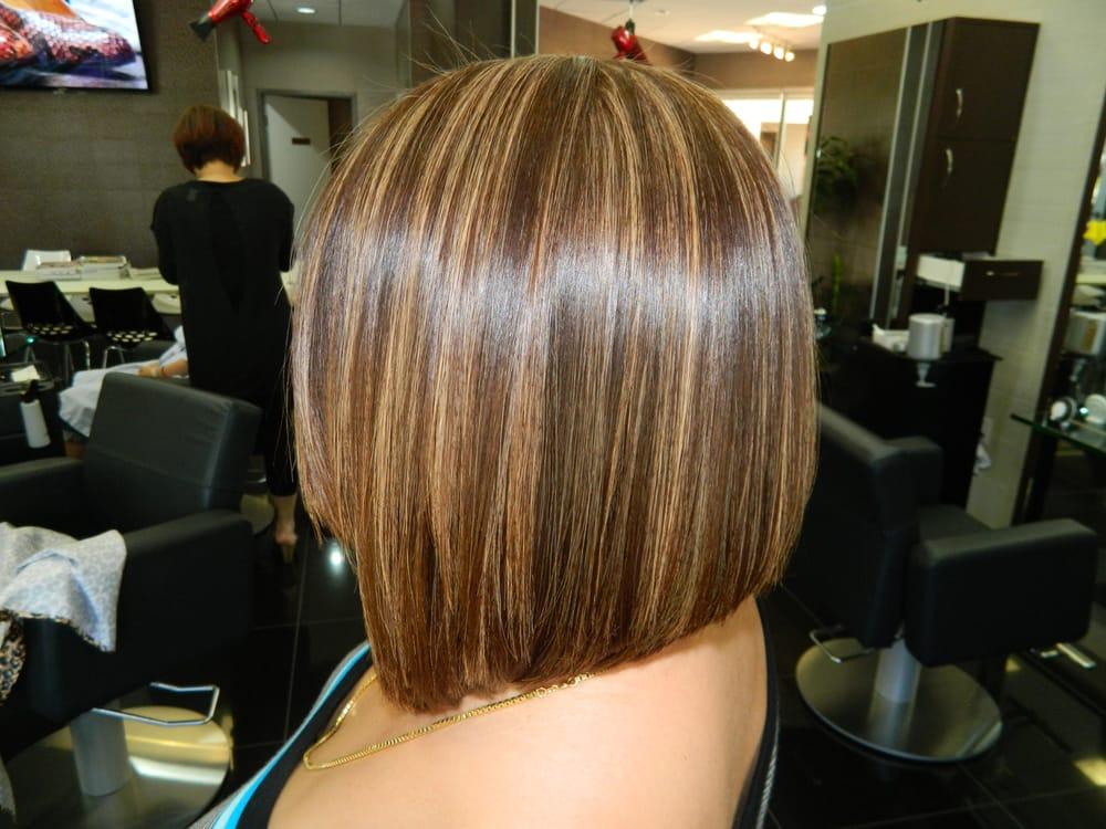 """Aline Hair Styles: """"Highlight Haircut Irvine 92604 Highlight A Line Bob"""