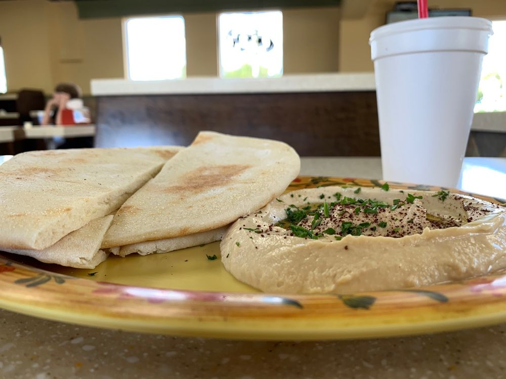 Food from Zeko's Mediterranean Grill