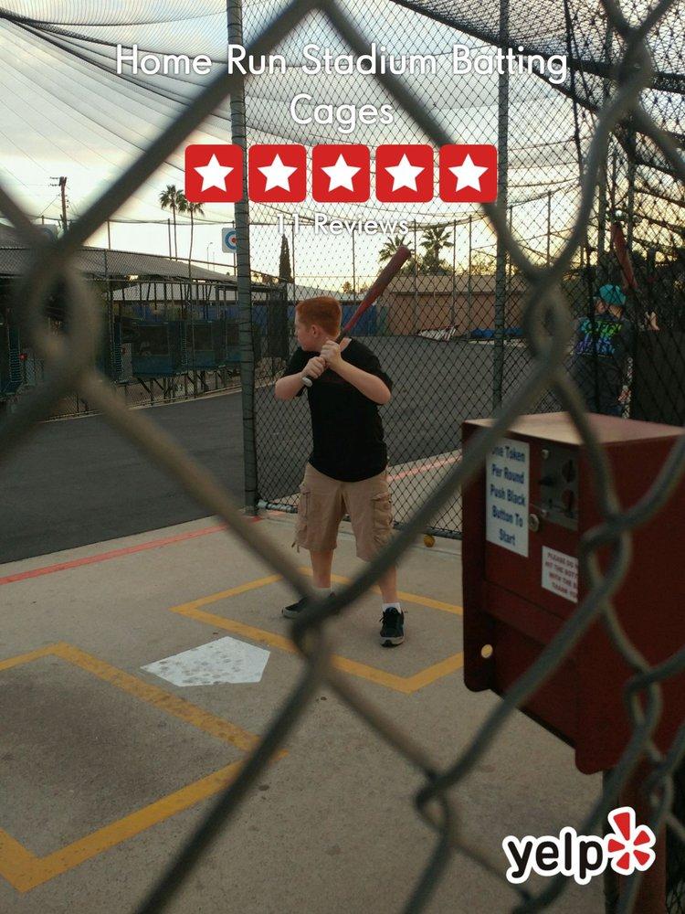 Home Run Stadium Batting Cages: 1829 East Main St, Mesa, AZ