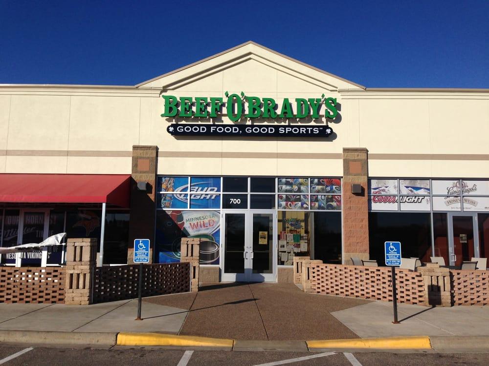 Beef 'O' Brady's: 23212 St Francis Blvd NW, St. Francis, MN