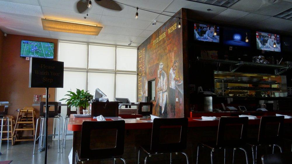 Inside the restaurant yelp for Restore kitchen