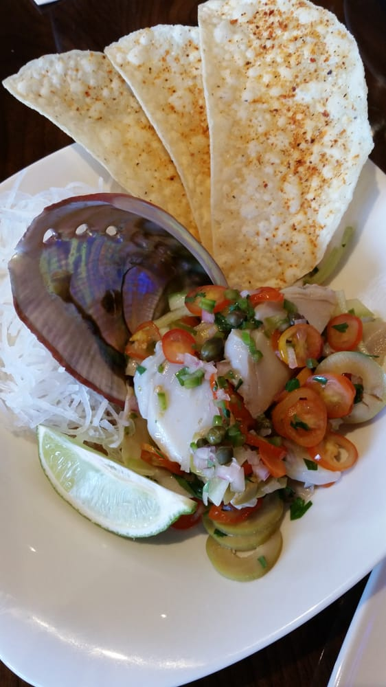 Abalone and Scallop Ceviche. - Yelp