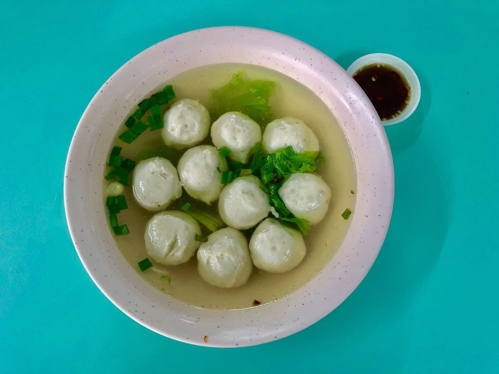 Hong Xing Handmade Fishball Singapore