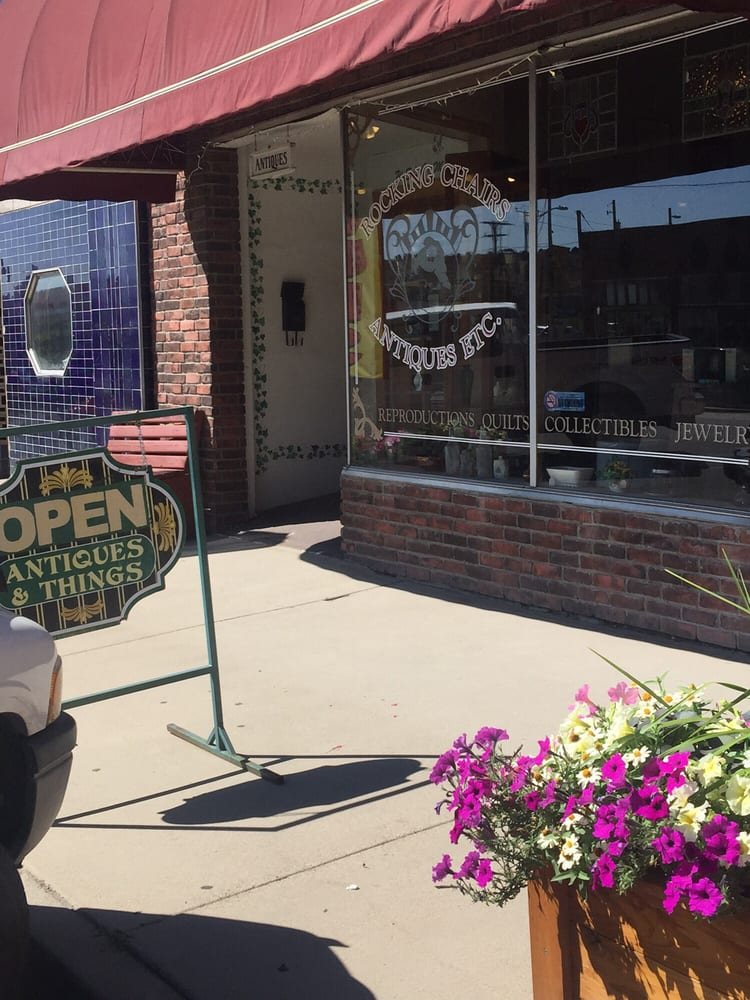 Rocking Chairs Antiques: 160 S Main St, Helper, UT