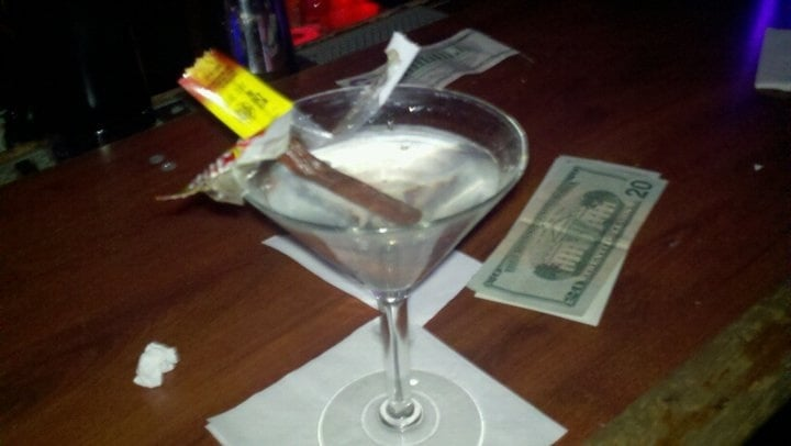 Slim Jim 39 S In A Martini Fine By Me Yelp