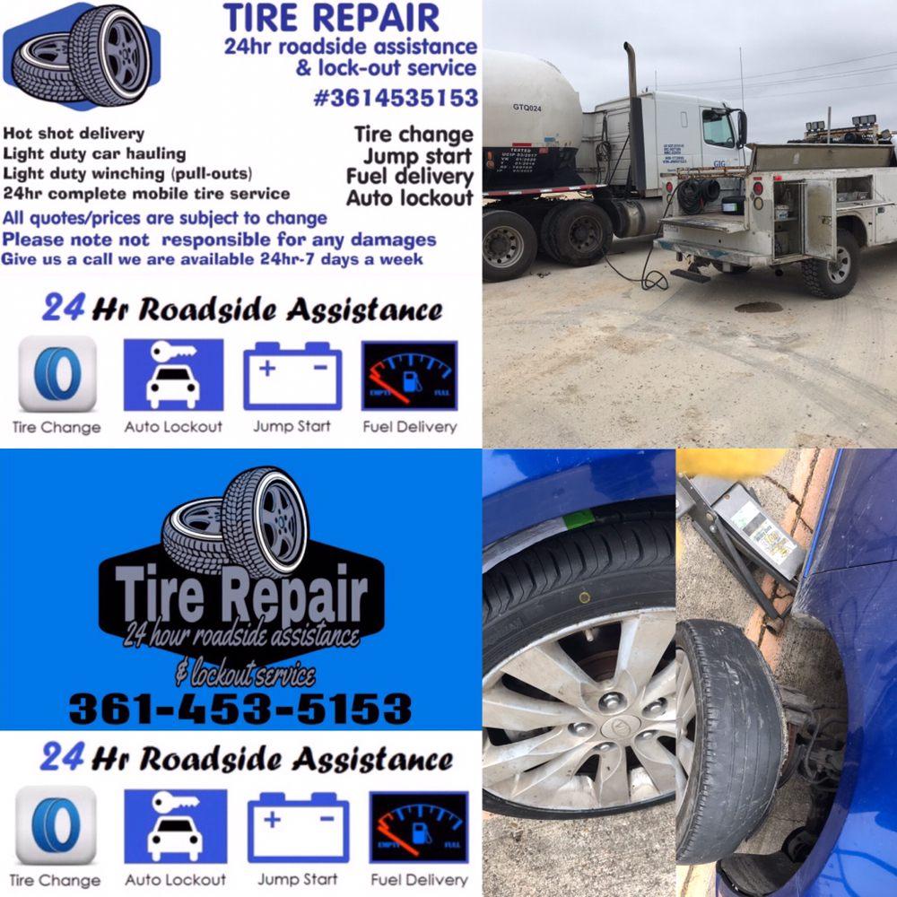 Tire Repair 24 Hour Roadside Assistance & Lockout Service: 210 Bluebonnet Ln, Sandia, TX