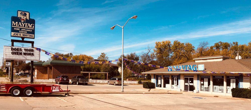 Joe's Maytag Home Appliance Center: 418 W Grand Ave, Chickasha, OK