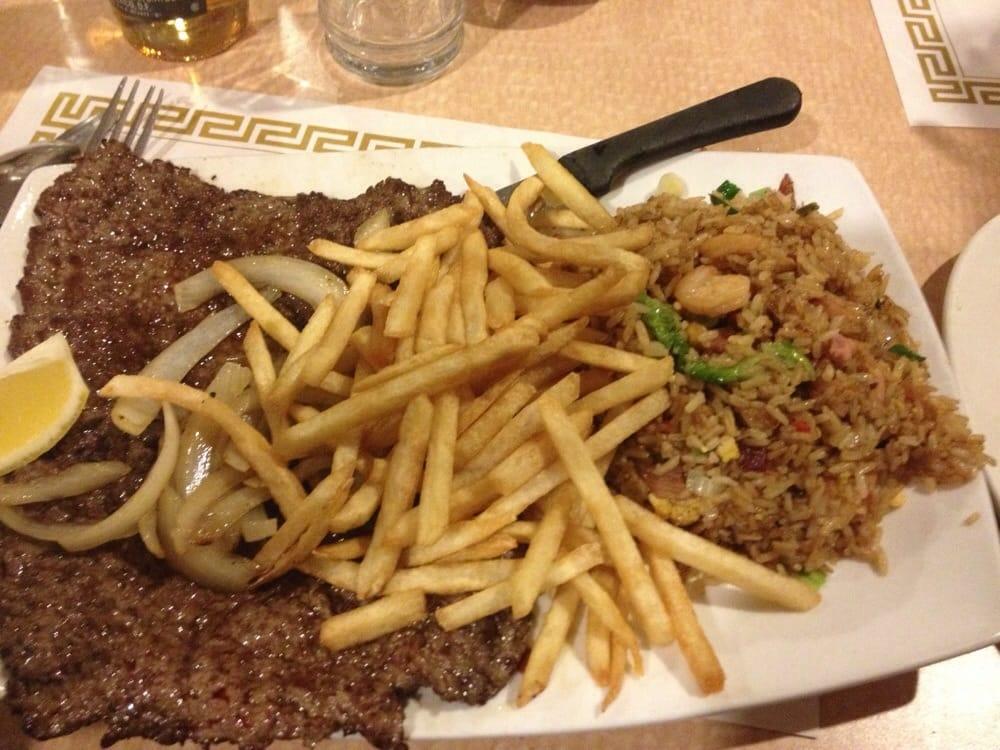 Bistec de carne yelp for Jardin de china