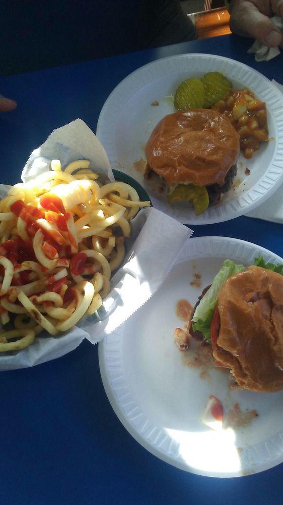 Food from Burton Hotel