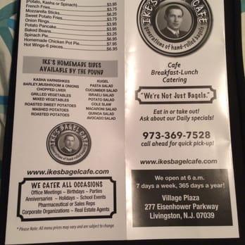 Ike S Bagel Cafe 29 Photos 49 Reviews Cafes 277 Eisenhower Pkwy Livingston Nj United