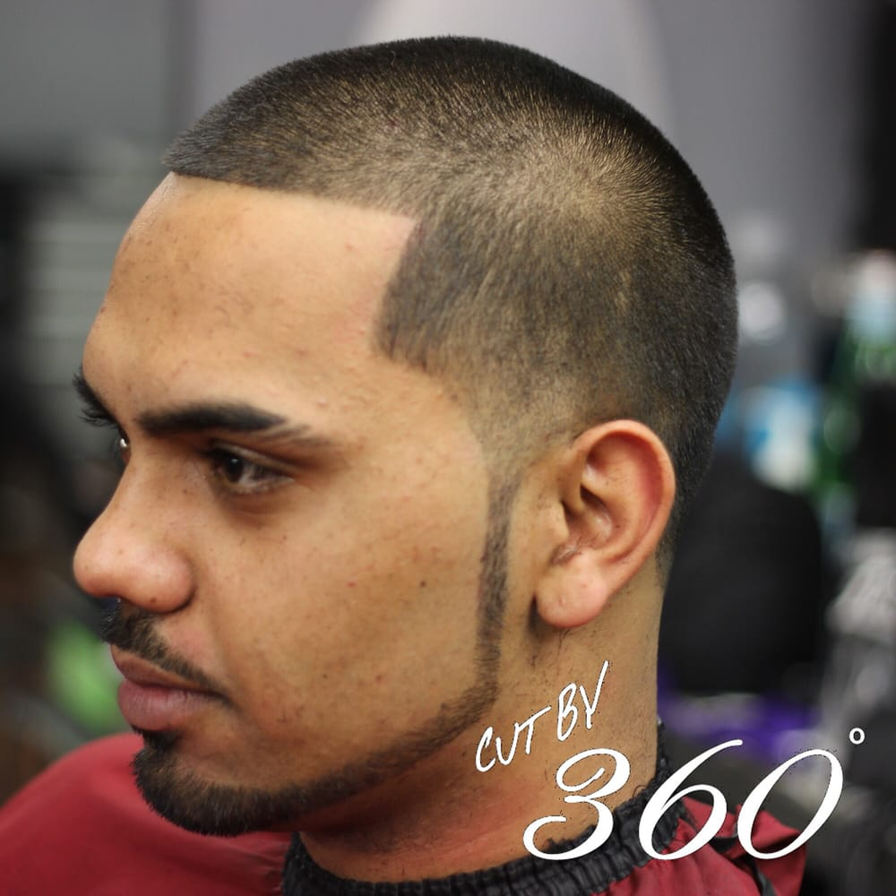 Light Taper With Chinstrap Double Slashed Eyebrow Cut By 360 Yelp