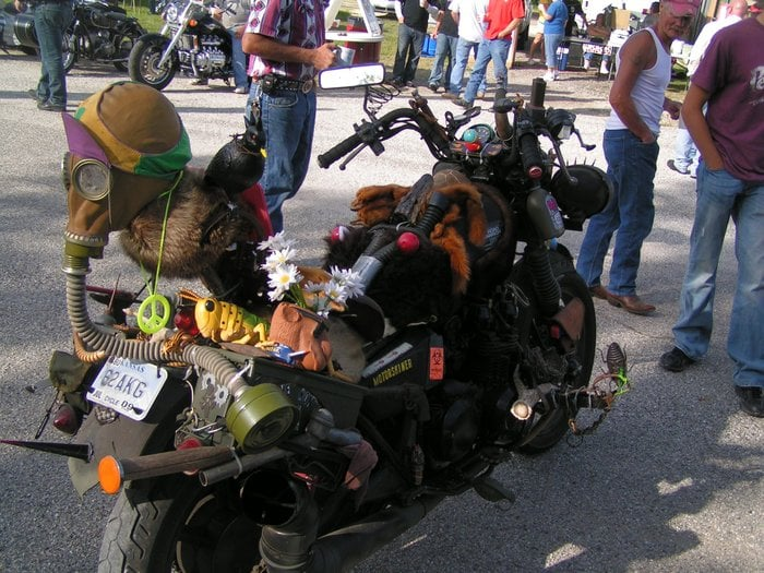 Cassoday Bike Run: Cassoday, KS