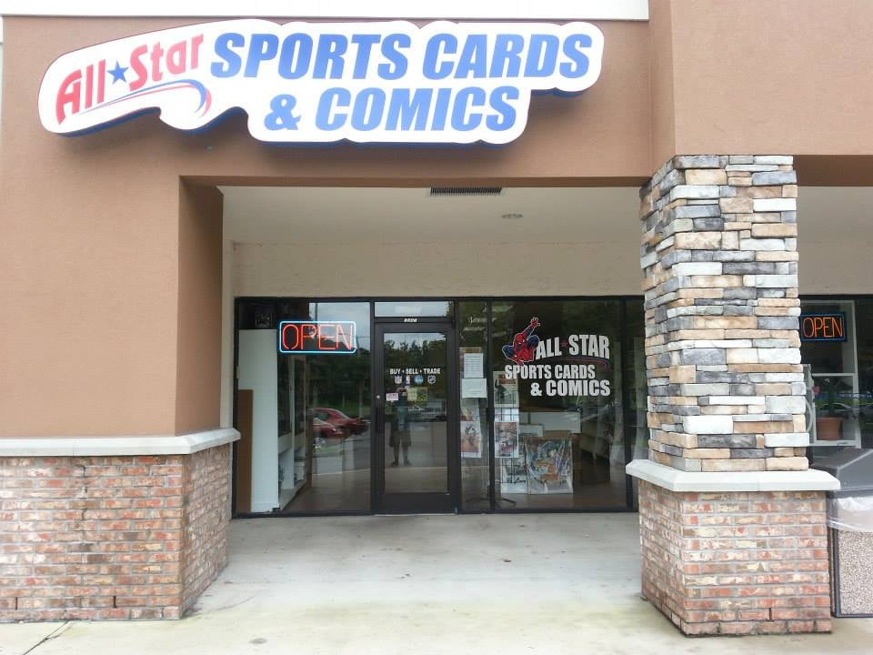 All Star Sportscards & Comics: 7241 NW 4th Blvd, Gainesville, FL