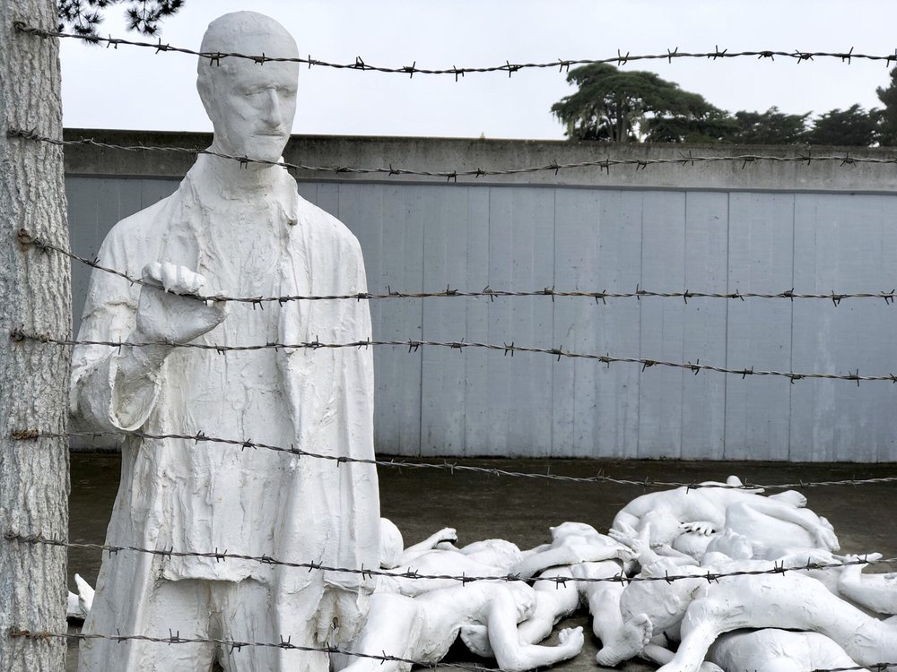 Holocaust Memorial: Lincoln Park, San Francisco, CA