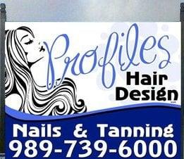 Profiles Hair Design & Tanning: 5125 N US Hwy 23, Oscoda, MI